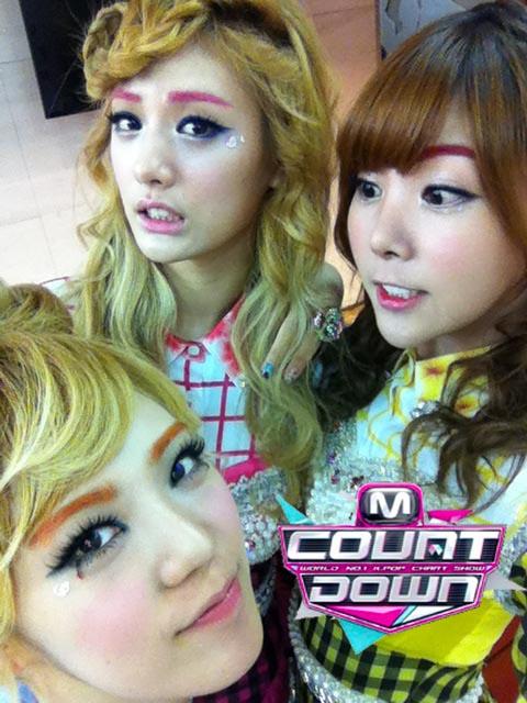 makeup images Korean girl band Orange Caramel's makeup wallpaper and background photos