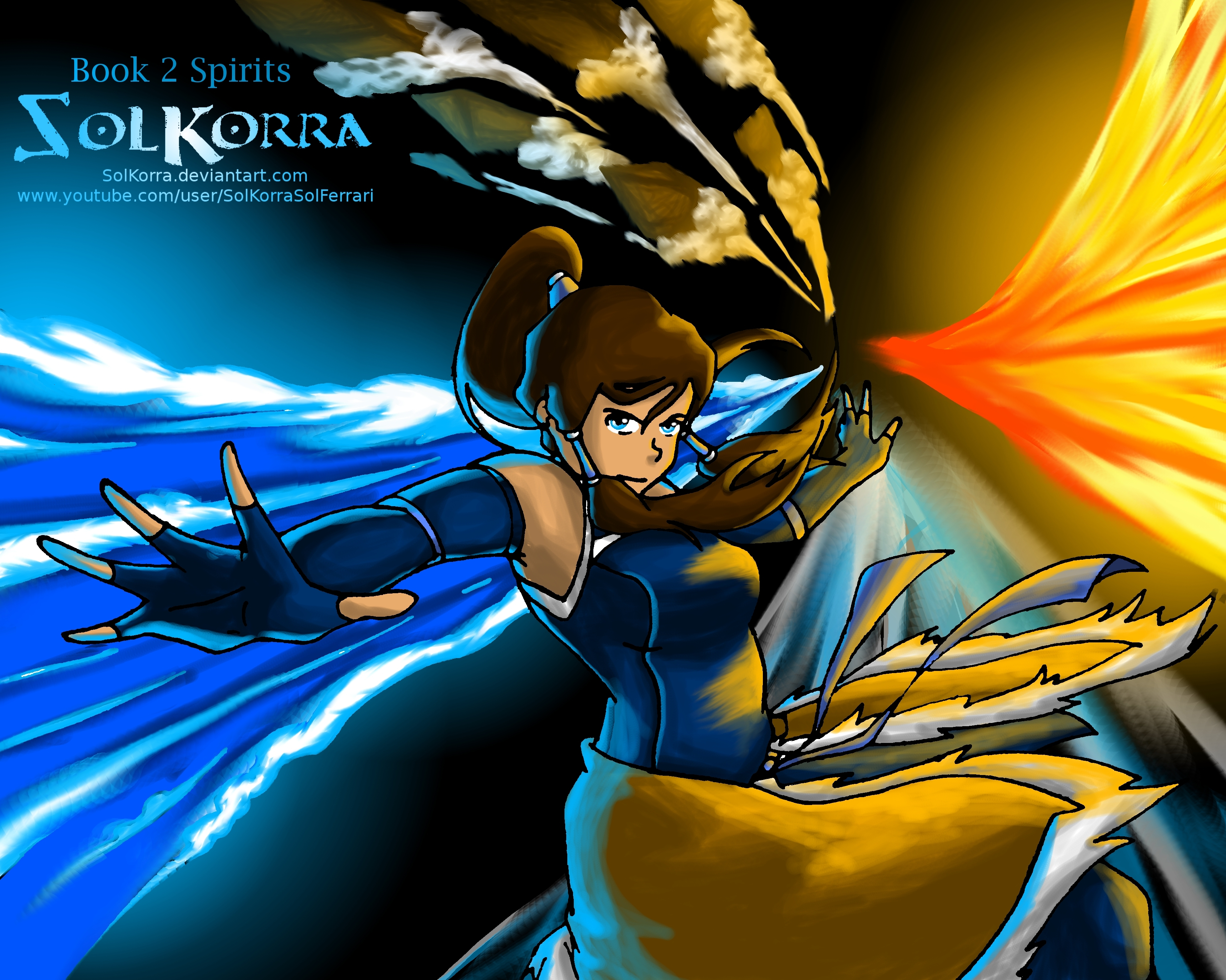 Korra The Avatar Book 2: The Spiritual World - Avatar: The Legend ...