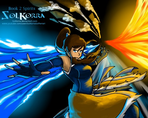 Korra The অবতার Book 2: The Spiritual World