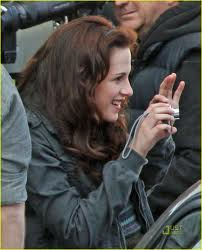 Kristen New Moon BTS