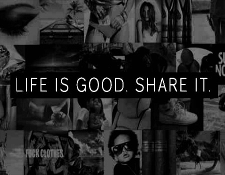 美图 壁纸 possibly containing 日本动漫 called LIFE IS GOOD. SHARE IT. ♥