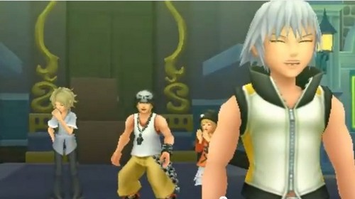 lol riku was laughing here