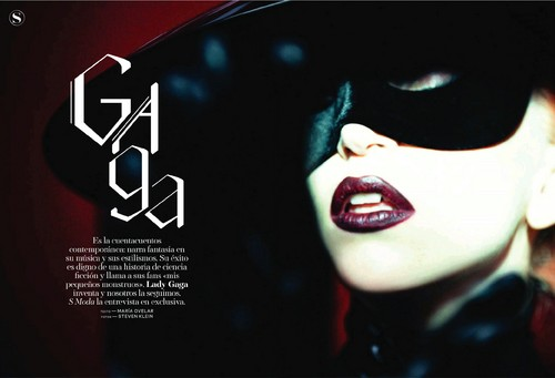 Lady Gaga in S Moda Magazine