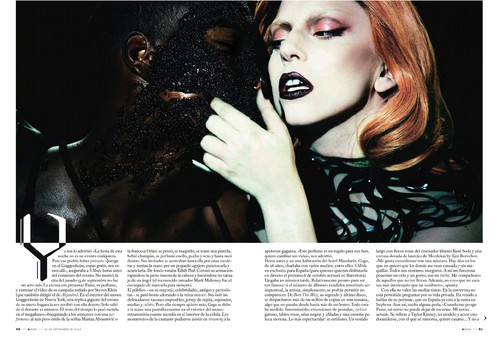 Lady Gaga in S Moda Magazine