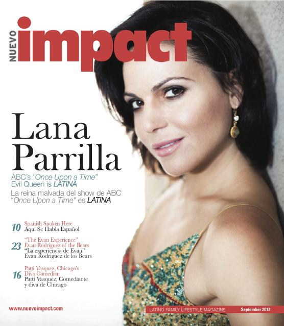 Lana Parrilla magazine
