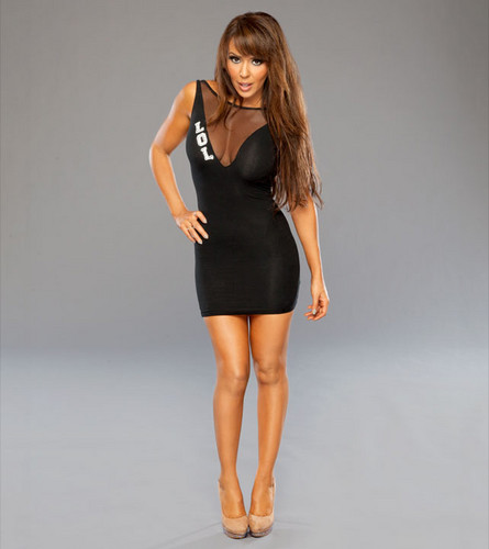 wwe layla fondo de pantalla probably containing a leotard, tights, and a bustier, bustier traducción titled Layla