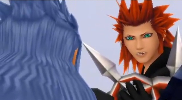 Lea was shocked to see Isa (Saix) on their side