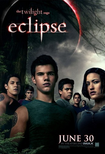 Leah - Eclipse poster - Wolf pack