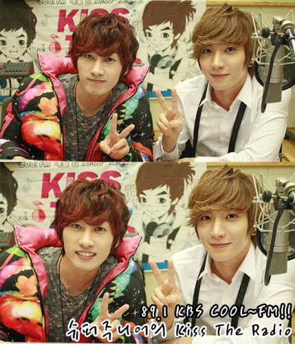 Leeteuk and Eunhyuk