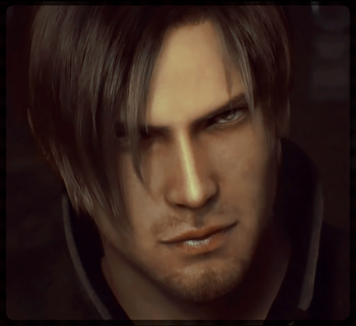 Leon Kennedy 바탕화면 probably with a portrait called Leon Hot - RE Damnation
