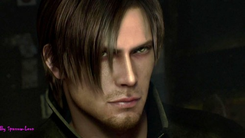 Leon Kennedy 바탕화면 possibly containing a portrait entitled Leon Hot - RE Damnation