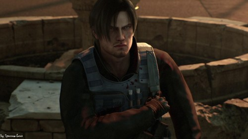 Leon in RE Damnation