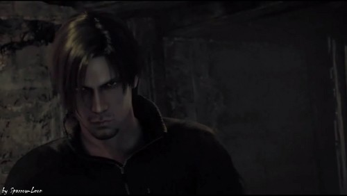 Leon Kennedy 바탕화면 possibly with a portrait called Leon is a bad boy!