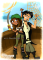 Let's go, sir pirate - total-drama-island fan art