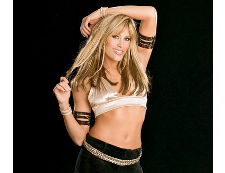 Lilian Garcia wallpaper probably containing attractiveness, a bikini, and a lingerie entitled Lilian Garcia Photoshoot Flashback