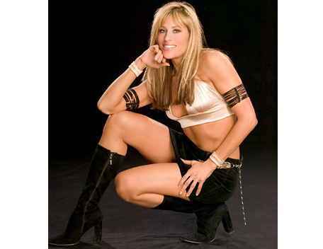 Lilian Garcia wallpaper possibly containing attractiveness and a lingerie entitled Lilian Garcia Photoshoot Flashback