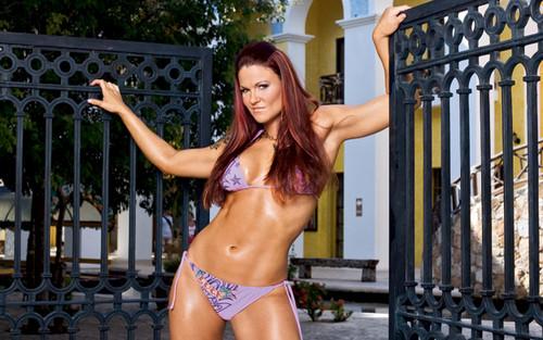 "Amy ""Lita"" Dumas fond d'écran with a bikini titled Lita Photoshoot Flashback"