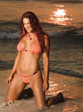 "Amy ""Lita"" Dumas wallpaper containing a bikini entitled Lita Photoshoot Flashback"