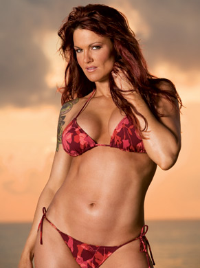 "Amy ""Lita"" Dumas fond d'écran containing a bikini called Lita Photoshoot Flashback"