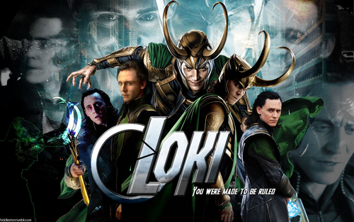 Loki (Thor 2011) fond d'écran probably with animé titled Loki