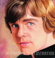 Luke Skywalker  - star-wars fan art