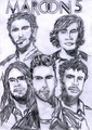 M5 - maroon-5 fan art