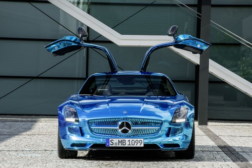 MERCEDES - BENZ SLS AMG COUPE ELETRIC DRIVE