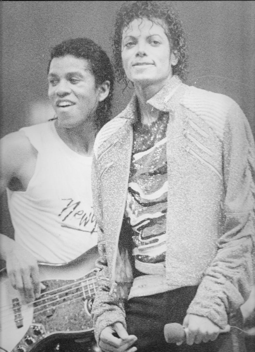 MJ on the Victory Tour