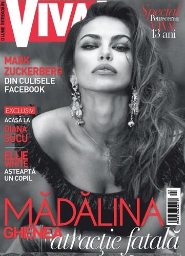 Madalina Ghenea magazine cover famous romanians beautiful women