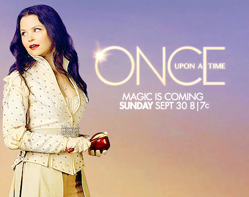 Once Upon A Time wallpaper probably containing a well dressed person, a box coat, and an overgarment called Magic is coming!
