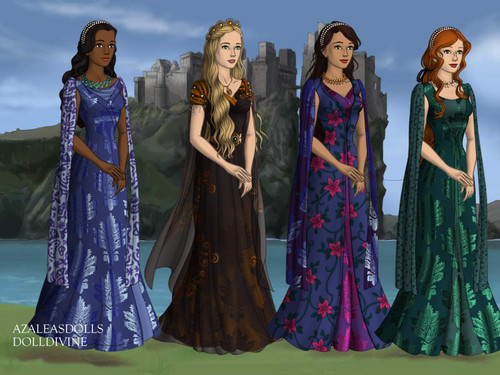 Main Characters from 할로윈 Princess