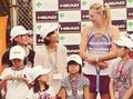 Maria with kids - maria-sharapova photo