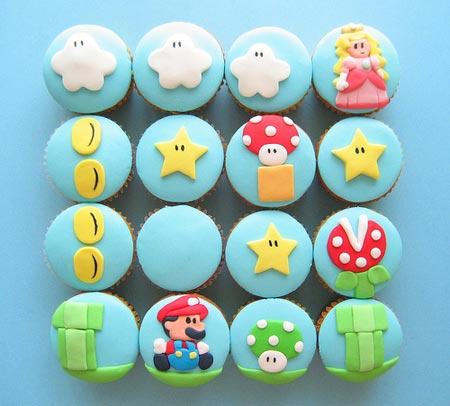 Mario bolo de copo