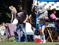 Matt&AnnaLynne on set of season 5 - naomi-and-liam photo