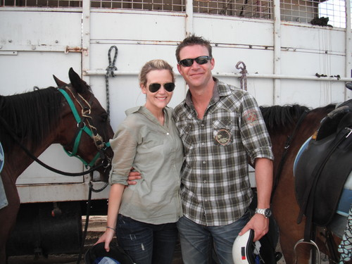 Matt Passmore & Rachael Carpani