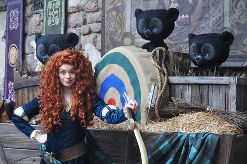 Merida and the urso cubs