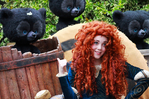 Merida - Legende der Highlands Hintergrund entitled Merida