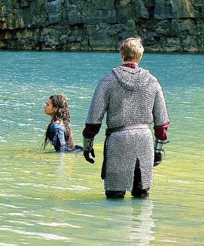 Merlin Guinevere and Arthur - Spoilery