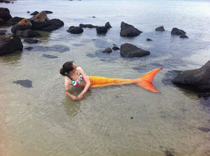 how to become a real mermaid when you touch water