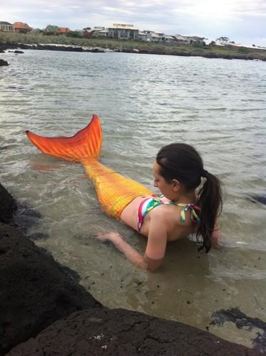 Mermaid Eliza from Oceana Tails