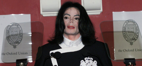 Michael At A Speaking Engagement At 옥스퍼드, 옥스포드 대학 Back In 2001