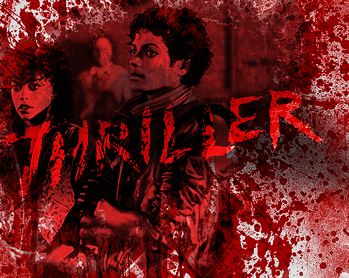 Michael Jackson wallpaper probably containing a fire and a concert titled Michael Jackson - Thriller ♥♥