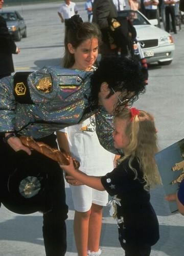 Michael LOVE'd All Children, He's such a Sweet Man