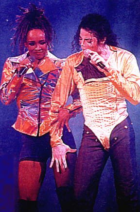 Michael Jackson wallpaper probably with a well dressed person, an outerwear, and long trousers entitled Michael & Siedah