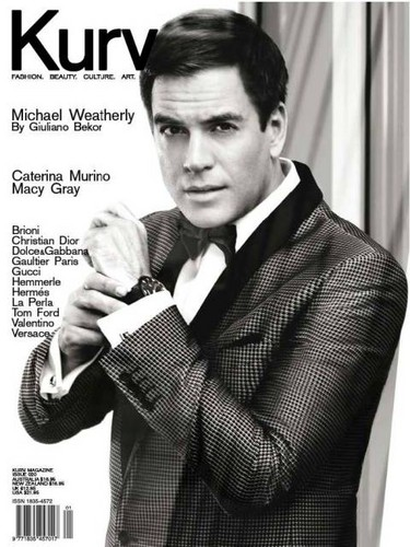Michael Weatherly for Kurv Magazine