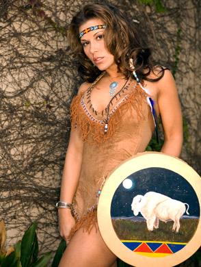 Mickie James Photoshoot Flashback