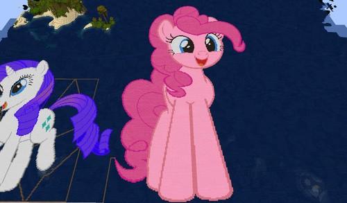 Minecraft (Майнкрафт) Ponies!