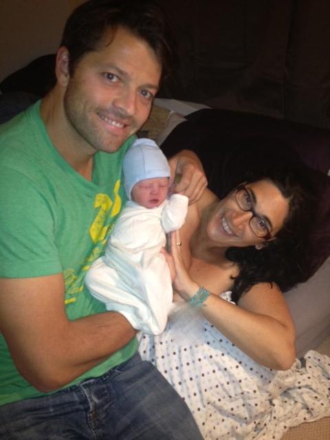 Misha, Vicki and their new Baby Girl! - Misha Collins ...