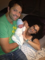 Misha, Vicki and their new Baby Girl! - misha-collins photo
