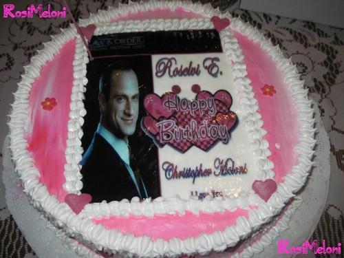 My Birthday Cake Meloni Style